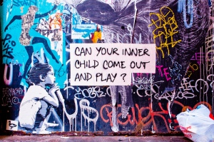 Can your inner child come out; Listen to Your Characters
